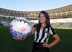 FOTOS: ex-gandula, Fernanda Maia volta à final com o Bota - fotos em futebol