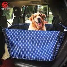 Cat / Dog Car Seat Cover Pet Covers Waterproof / Foldable Red ...