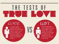 What is lust vs love