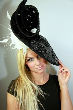 New s/s 2014 Ascot structured hat by Gemma J от GemmaJMillinery, £335.00