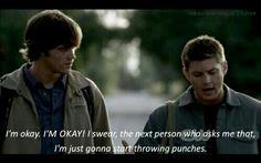 I love Dean :)