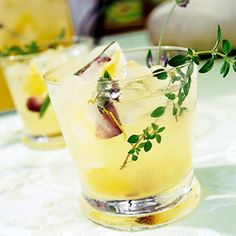 Recipe.com - Garden Tea Punch. looks good