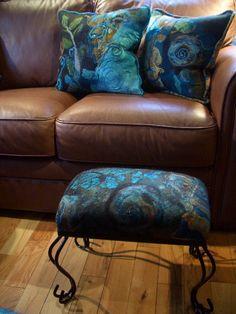 The Blue Morpho Felted Living Room - jean gauger - Picasa Web Albums