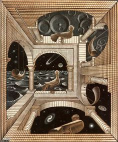 Other World - M.C. Escher