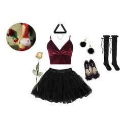 Don't play with my heart by sweetpasteldream on Polyvore featuring Mode, Boohoo, HYD and Debenhams