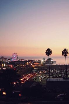 plasmatics-life: Santa Monica Pier By Nico Beautiful World, Beautiful Places, Places To Travel, Places To Visit, Travel Destinations, California Dreamin', California Camping, Travel Inspiration, Daily Inspiration