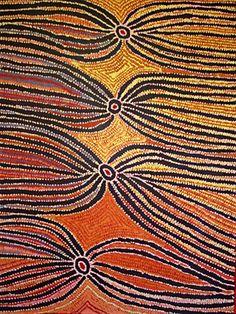 Liddy Napanangka Walker ~ Wakirlpirri Jukurrpa (Dogwood Tree Dreaming), 2007