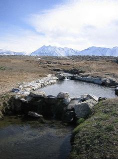 Hot Springs.. Bishop, California. Most beautiful at night under the stars.