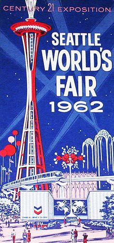"The 1962 #Seattle World's Fair AKA ""The Century 21 Exposition"" had nearly 10 million visitors. #Expo2015 #expostory"