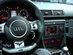 Audi B7 RS4 Dashboard. Audi in my opinion has the best interior designs.