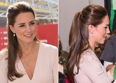 Estilo de cabelo da Princesa  #katemiddleton