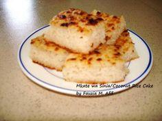 Mkate wa Sinia (Rice and Coconut Cake)   Fauzias Kitchen Fun