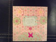 'Mix and Match' handmade birthday card for a friend £2.00