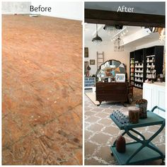 How to Transform Floors Using Chalk Paint® - The Palette