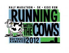 Running with the Cows, half marathon, 5/12/12