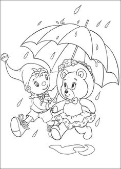 Noddy Coloring Pages 84