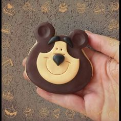 Orso Cupcakes, Cupcake Cookies, Marsha And The Bear, 2nd Birthday, Birthday Parties, Sugar Cookie Royal Icing, Bear Cookies, Bear Party, Fondant Cakes