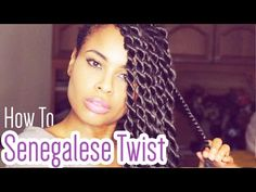 How-to Senegalese Twists like a Pro! [Video] - http://community.blackhairinformation.com/video-gallery/braids-and-twists-videos/senegalese-twists-like-pro-video/