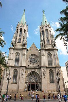 Catedral da Sé - São Paulo - Brasil