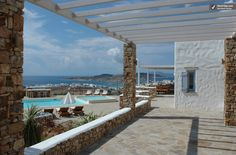 Photos of Large Greek Island Villa with Views of the Aegean Sea and Within Walking Distance of Town - Villa Belus and Agenor - RentVillas.com