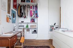 Blog wnętrzarski - design, nowoczesne projekty wnętrz: Dwupoziomowe mieszkanie 114m2