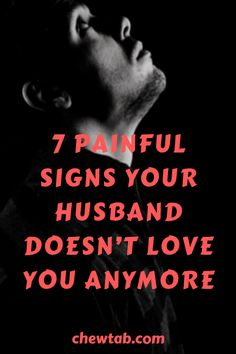 Does he even love me anymore? How to tell if your husband doesn't love you? Look out for these signs.
