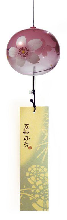 Cloche Furin Cristal Sakura 7cm
