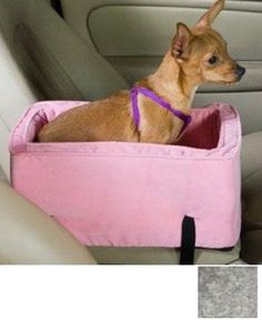 Snoozer Luxury Console Pet Car Seat, Small Luxury, Chaparral Snoozer http://smile.amazon.com/dp/B007Y5Z0QS/ref=cm_sw_r_pi_dp_gdwDub12P5332