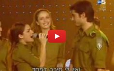See how this IDF soldier proposed!