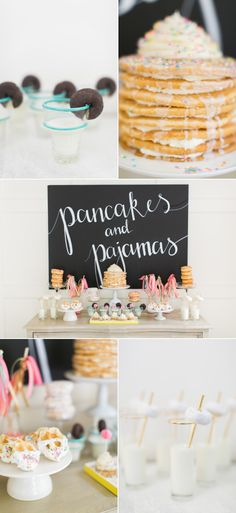 Pancakes and Pajamas: A.K.A. the best sleepover Party Idea Ever – Style Me Pretty