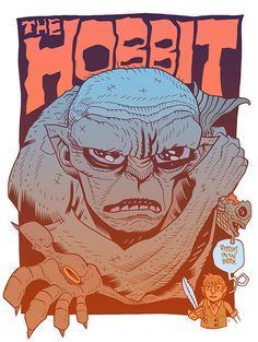 the hobbit- almost couldn't tell if this was gollum or one of the giant trolls