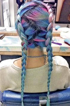 Colorful Hair Braids Pictures, Photos, and Images for Facebook, Tumblr, Pinterest, and Twitter