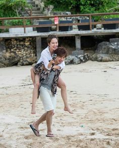 "Pics of We Are In Love ""Song Ji Hyo & Chen Bolin"" Bali Special (via DC SJH)"