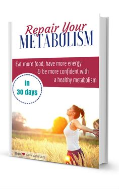 Free ebook download to learn how to repair your metabolism in under 30 days. Okay so I read this and it seriously is the best book on your metabolism. It's easy to understand and has so much amazing information in it!! I'm now working with the author as my health coach & she is so amazing!