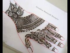 YouTube #traditional #arabic #henna #mehndi #design