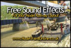 Free sound effects for your Model Railway Layout #modelrailway
