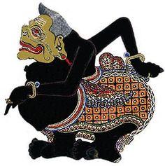 Semar - javanese leather puppet