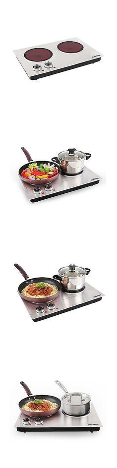 Burners and Hot Plates 177751: Cusimax Cmip-C180 1800W Infrared Cooktop Ceramic Double Countertop Burner Wit... -> BUY IT NOW ONLY: $92.79 on eBay!