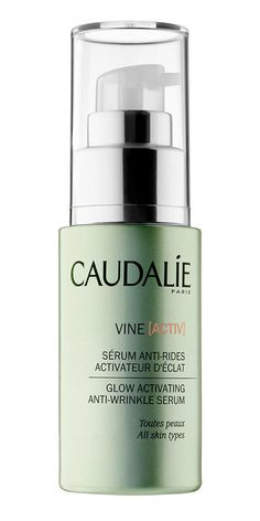 Caudalie Vine[Activ] Glow Activating Anti-Wrinkle Serum : Pollution can do some nasty things to your skin. Apart from being a possible factor in premature aging, it can make your skin look dull and tired. This new serum from Caudalie uses a blend of antioxidants from grape polyphenols, vitamin E (another antioxidant powerhouse), and vitamin C to keep your skin's tone intact and to keep your complexion protected from free radicals. The result? Glow, baby, glow!