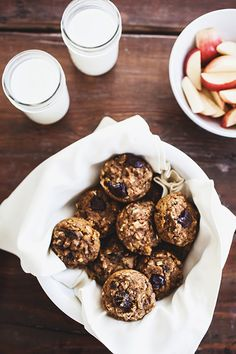 Whole Wheat Pumpkin Muffins // the little red house blog