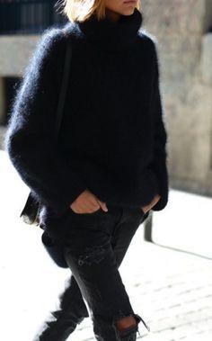 20 Formas De Usar Un Sweater Oversized Este Otoño   Cut & Paste – Blog de Moda