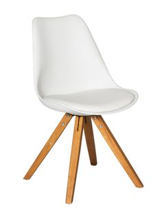 Create a modern look with the Wiley dining chair. #NewandNow