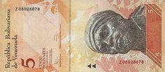 Pieza bbcv5bsf-aa04r (Anverso). Billete del Banco Central de Venezuela. 5 Bolívares Fuerte. Diseño A, Tipo A. Fecha Febrero 03 2011. Serie Z8. Billete de reposición
