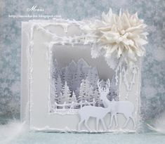 Christmas Card - All essential products for this project can be found on Crafting.co.uk - for all your crafting needs. - Viper card