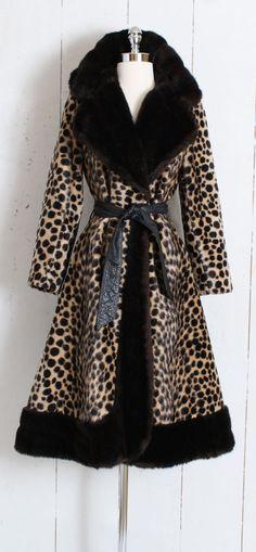 491f810226b9 Vintage 1960s Coat vintage 60s princess leopard faux fur | Etsy Winter  Gowns, Faux Fur