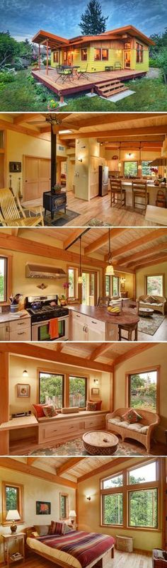 The River Road Cottage (800 sq ft) - I'd love to do this for an Air BnB on our property.