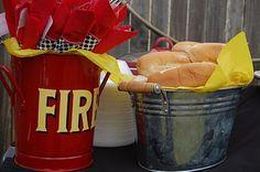 Firetruck food table....
