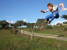 High fence?  Jump!!