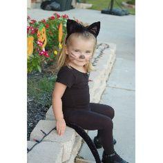 Cat costume for little girl