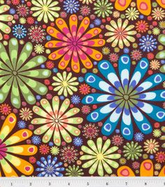 Peacock Flower Fabric by the Yard Quilting by KlassyBabyBoutique, $8.99